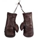 Guantes Boxeo Marrones