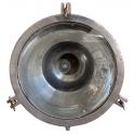 Lámpara antigua de techo estilo industrial de latón