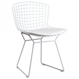 Silla de Metal Diseño Royal White