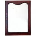 Espejo de pared con marco de madera Antiguo