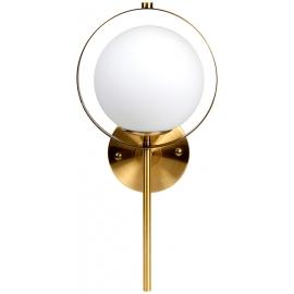 Aplique Dorado Diseño Bola