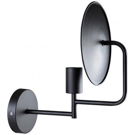Aplique de diseño plato o disco de color negro