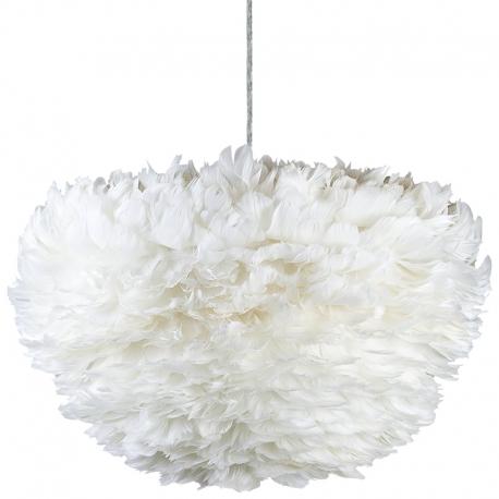 Lámpara colgante de Plumas de Ave blancas
