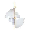 Lámpara de techo blanca con diseño original