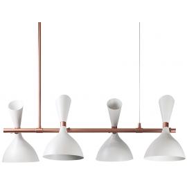 Lámpara Blanca Georgette