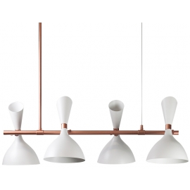 Lámpara Georgette Blanco
