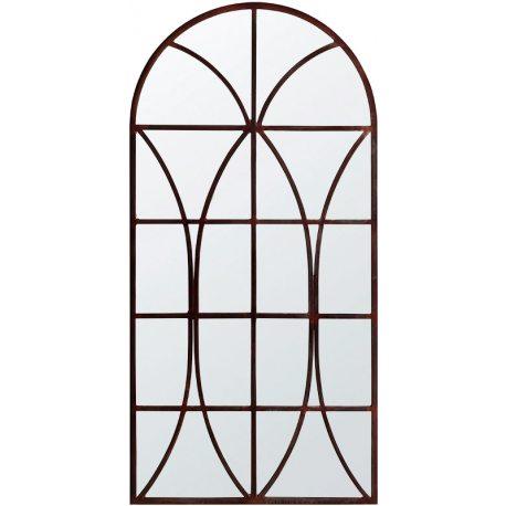 Espejo de pie con forma de ventana de gran tamaño Stand