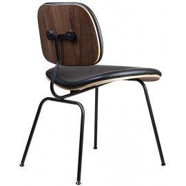 Silla de Metal Diseño Réplica DCM Eames Black