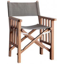 Silla de Madera Director Plegable
