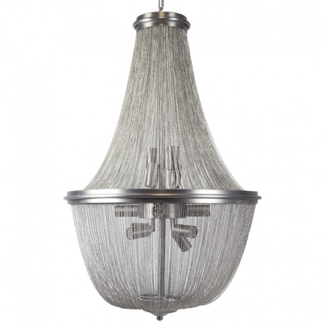 Lámpara colgante Época con cadenas metálicas