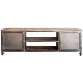 Mueble Televisión Industrial con Ruedas