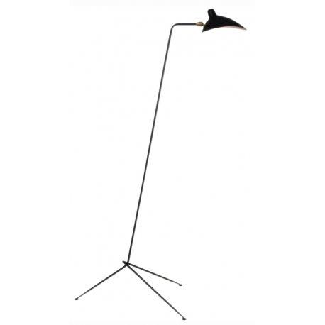 Lámpara de Pie Serge negra con 1 Cabeza