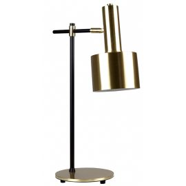 Lámpara de Mesa Dorada