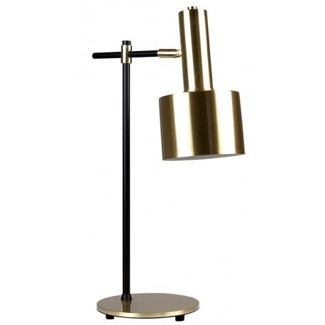 Lámpara de Mesa Dorada de bonito diseño mid century