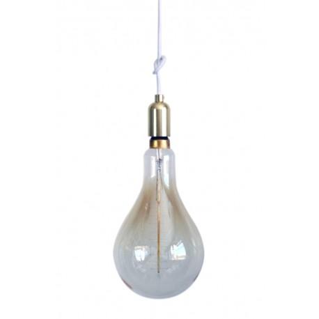 Lámpara Algodón con Bombilla Oversize