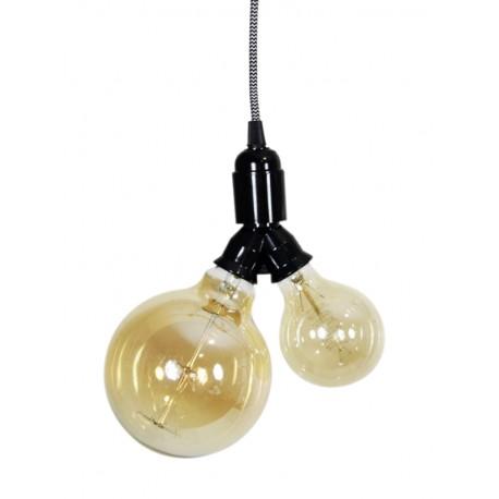 Lámpara Doble casquillo