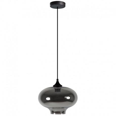 Lámpara Colgante de cristal ahumado de diseño pyles