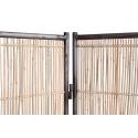 Biombo realizado con bambú natural elaborado de forma artesanal de estilo boho, mediterráneo o exótico