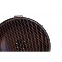Foco antiguo metálico de mesa de aire industrial  Iron
