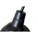 Aplique brazo de estilo industrial envejecido crema