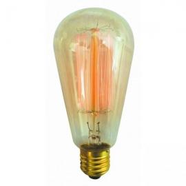 Bombilla Filamentos Edison Pera