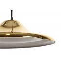 Lámpara de techo dorada con forma de plato Rue C