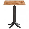 Mesa de cafetería de madera de Acacia S