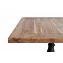 Mesa de bar de madera de Teka Flora