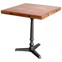 Mesa de bar con sobre de Chapa y de madera