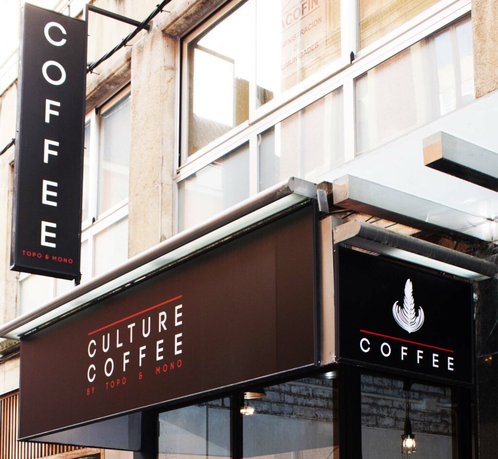 Culture Coffee.