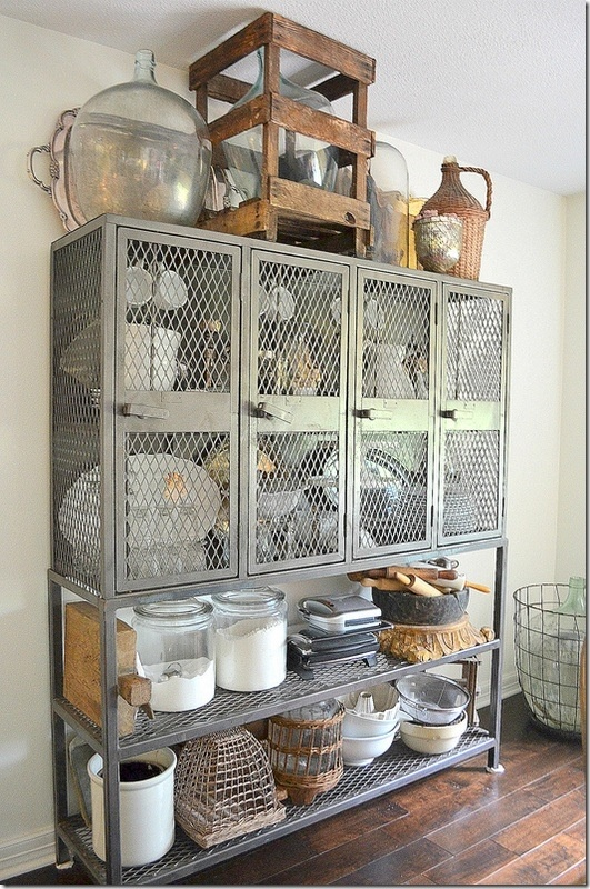 Industrial Cupboard (Pinterest)