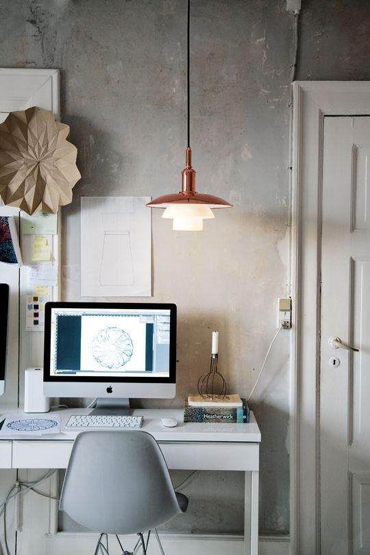 Microcemento y Eames. http://lifeasamoodboard.blogspot.dk/