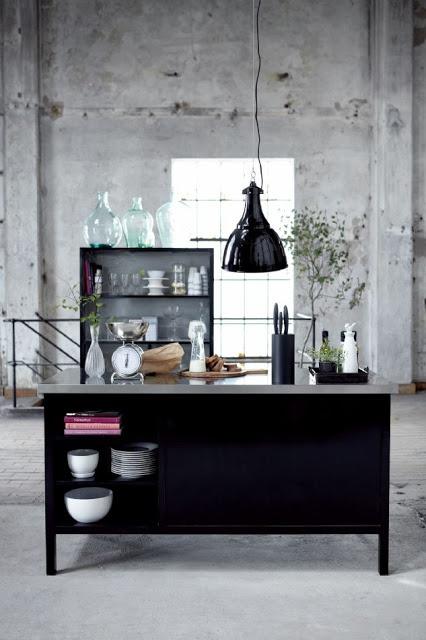 Cocinas industriales. http://bohemia-shop.blogspot.nl/
