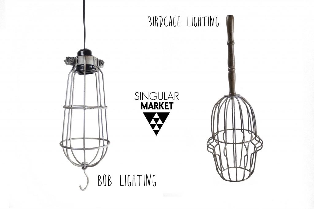 Lámparas de metal
