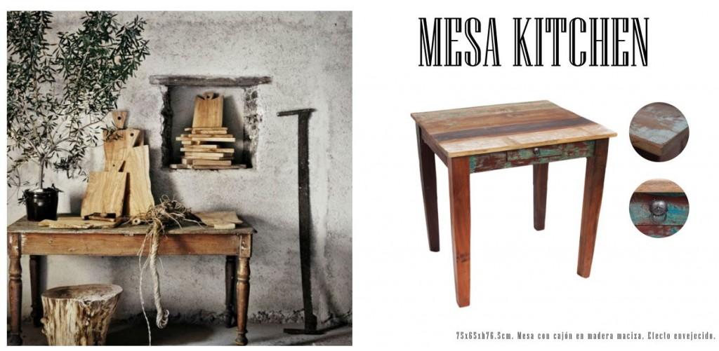 Mesa kitchen catálogo
