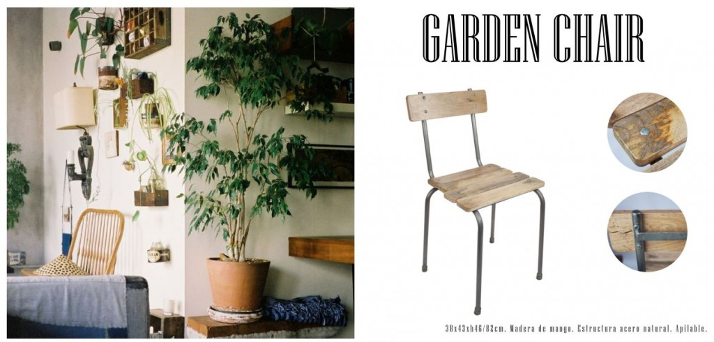 Silla garden catálogo