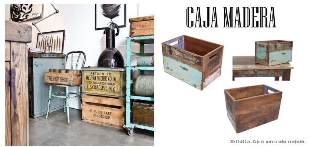 caja de madera catálogo