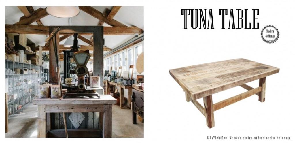 tuna table catálogo