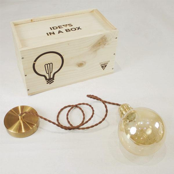 lampara idea box globo FILTRO