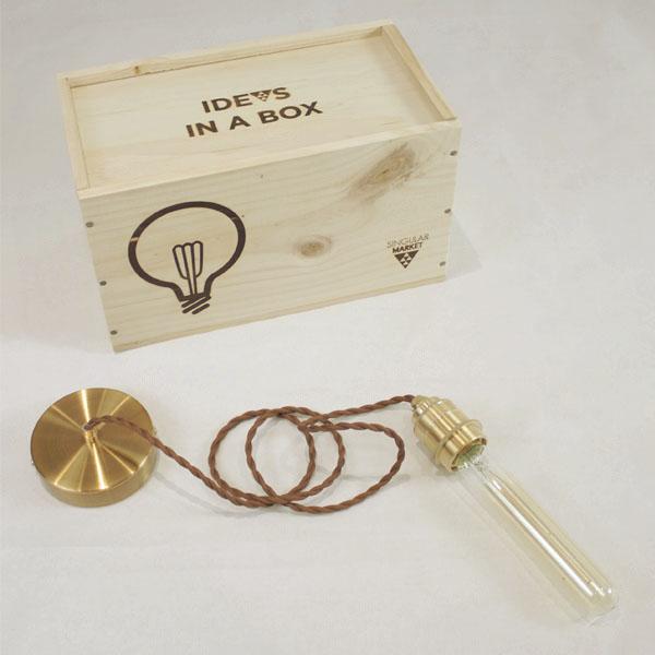 lampara idea box probeta FILTRO