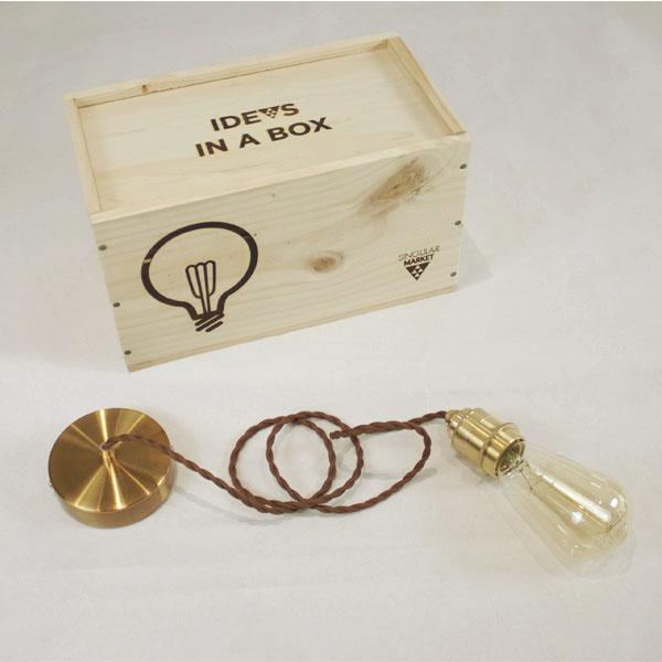lampara pera idea box FILTRO