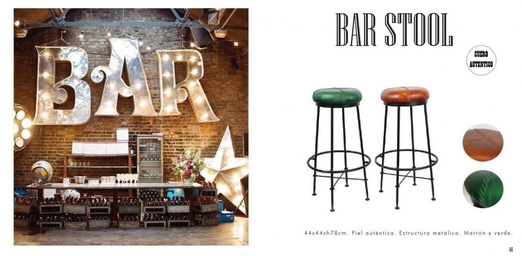 bar catalogo