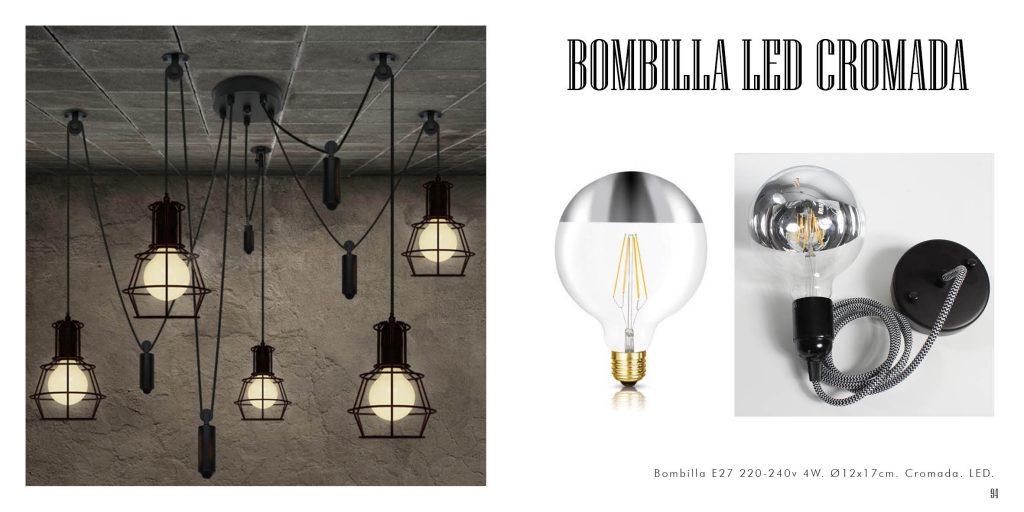 Bombilla Cromo LED