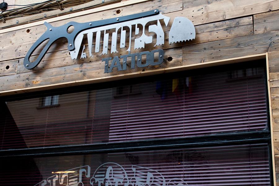 Estudio de tatuajes Autopsy, León