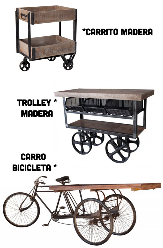 trolley camarera