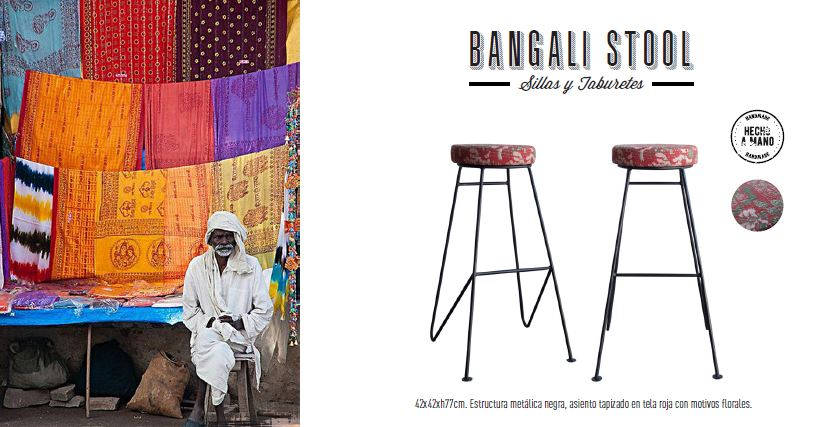 taburete bangali