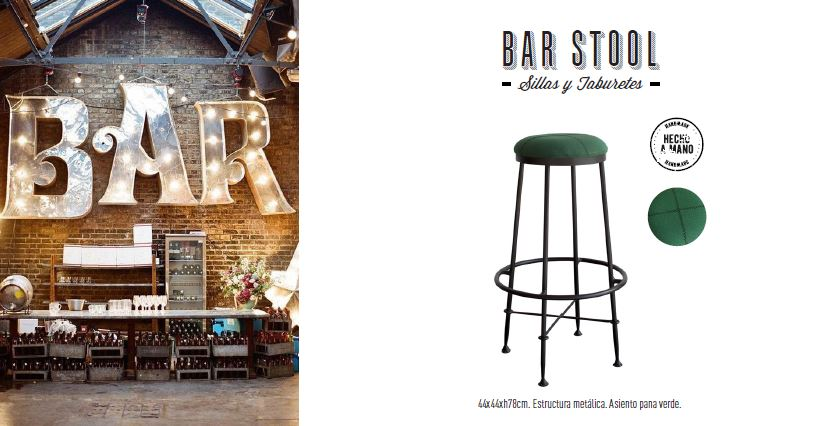 taburete bar stool pana