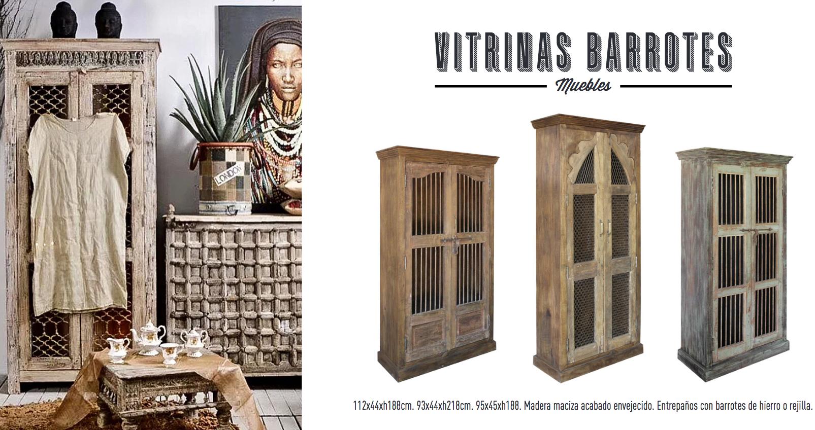Mueble vitrina expositor alacecna antigua en madera