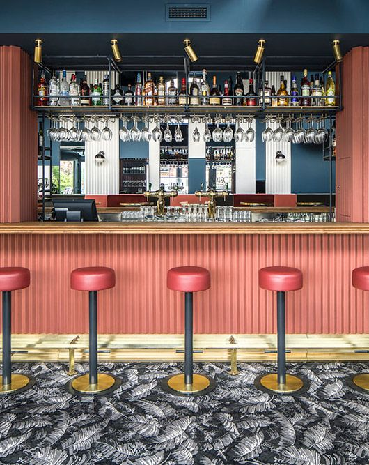 Aplique de pared- Café Waldeck Amsterdam