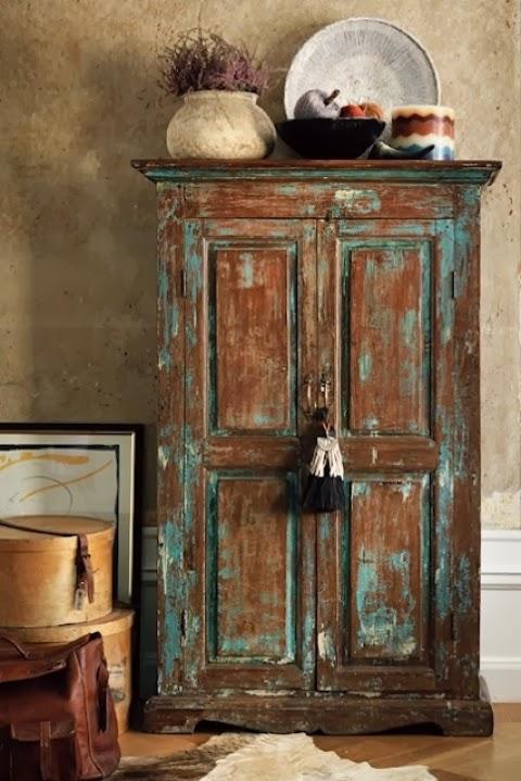 Alacena mueble vintage antiguo